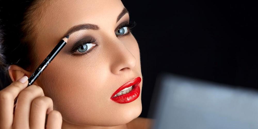 Beautiful eyebrows.