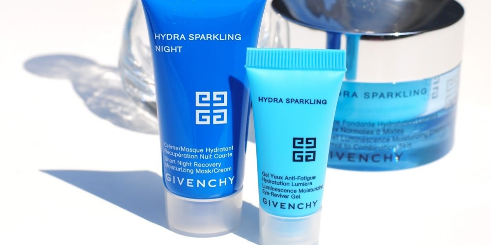 Highlighting under eye cream Hydra Sparkling from Givenchy.