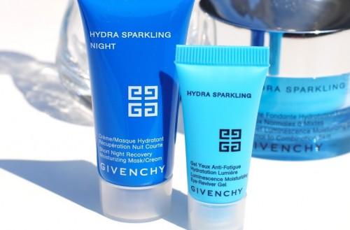 Highlighting under eye cream Hydra Sparkling from Givenchy.