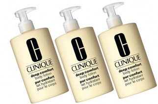 Moisturizing Body Lotion by Clinique – Deep Comfort™ Collection.